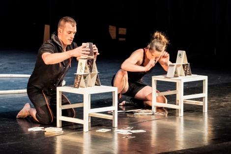 Reportage van de première van Bert en Fred in Provinciaal Centrum voor Theater Dommelhof.